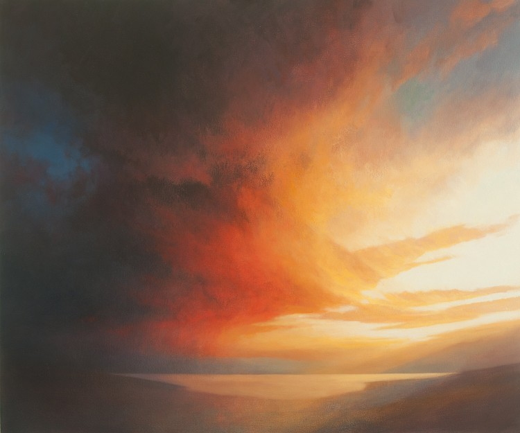 Landscape painting commissions - Sunset Commission