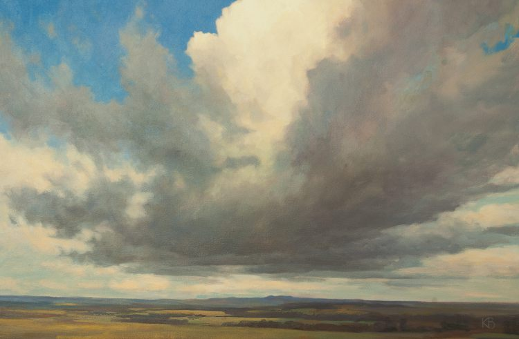 Cloud and Sky oil painting