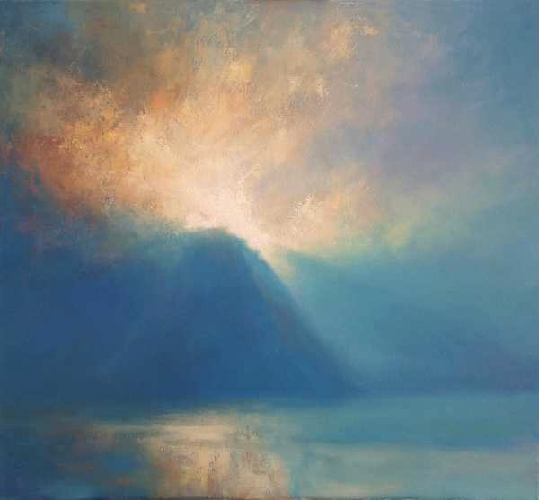 Seascape painting  commission- emotional oil painting