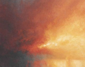 Sky Painting - After JMW Turner - painting of colour and light