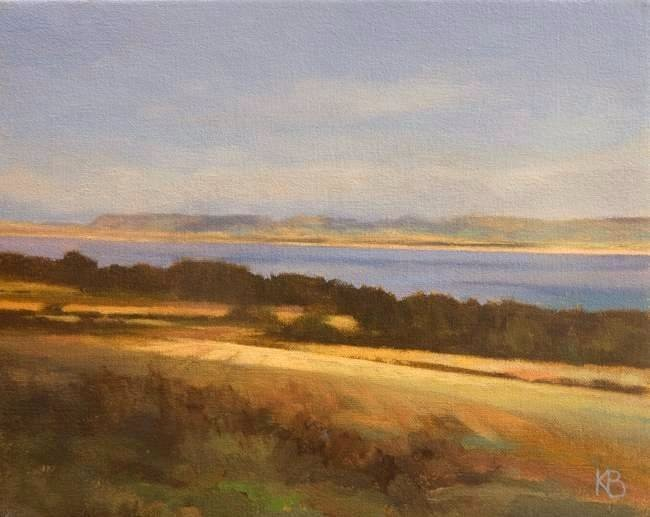 Thornton Farm  Fife - Oil on Canvas