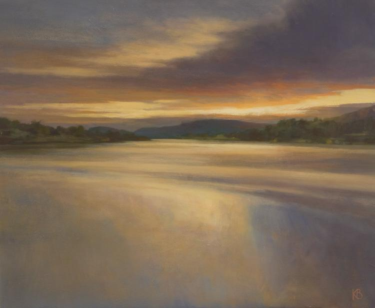 Painting of the River Tay near Inchyra