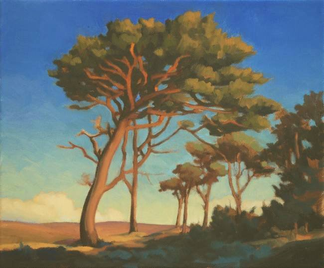 Oil Paintings of Pine Trees Forest Pines Trees Oil