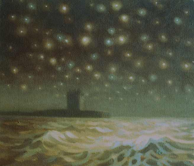 Oil painting of Starlight