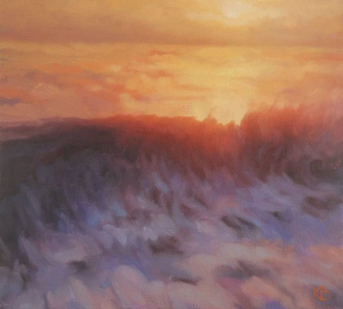 Painting of Wave