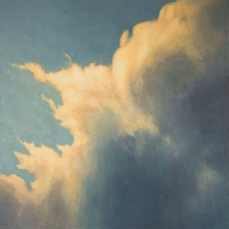 Large Cloud Painting - Oil painting commission