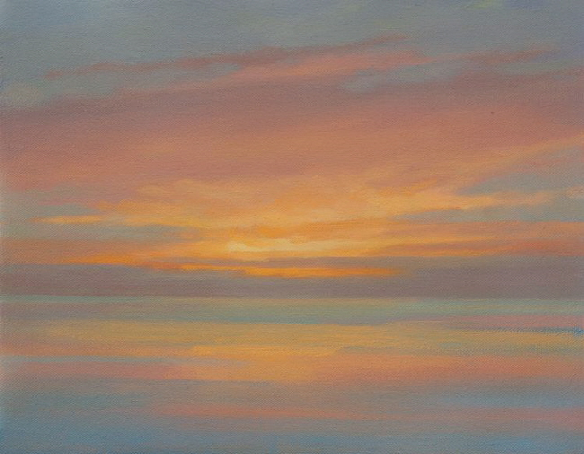 Dawn Seascape Composition b