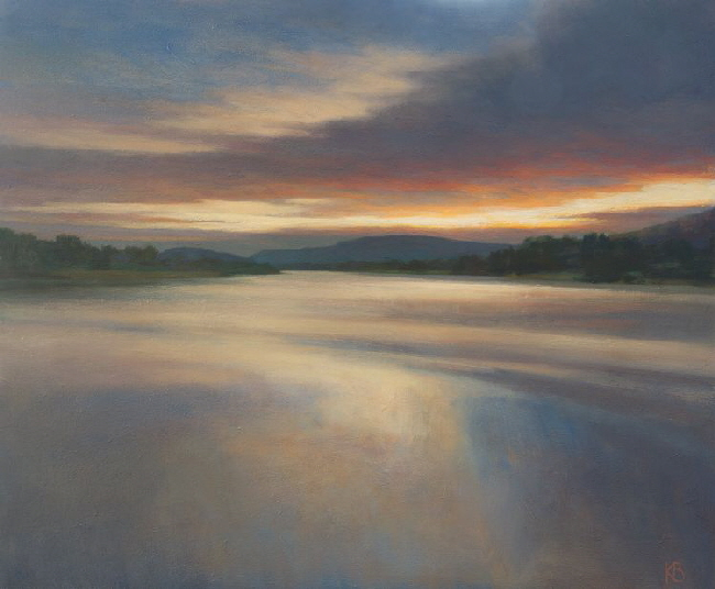 Painting of the River Tay at Inchyra